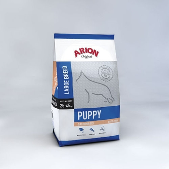 ARION Puppy, Large Breed, Salmon & Rice, 12kg