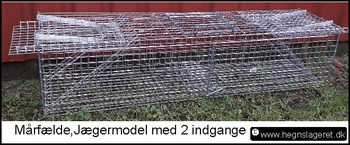 Smart Mårfælder og minkfælder til fangst af husmår og mink. KP44