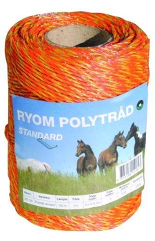 Polytråd, standard, orange, 250m.