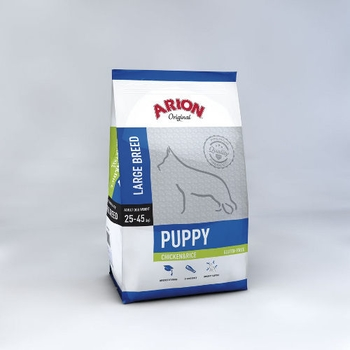 ARION Puppy, Large Breed, Chicken & Rice, 3kg