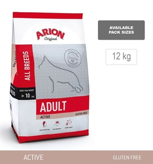 ARION Adult Active, All Breeds, 12kg