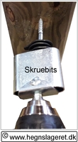 Skruebits, metal